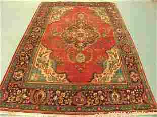 Stunning Beauty Persian Tabriz Rug 9x6