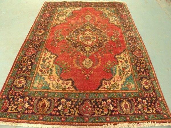 4014: Stunning Beauty Persian Tabriz Rug 9x6