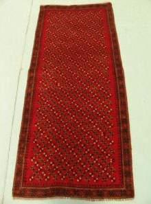 Semi Antique Rugs Persian Herati Rug 6x3