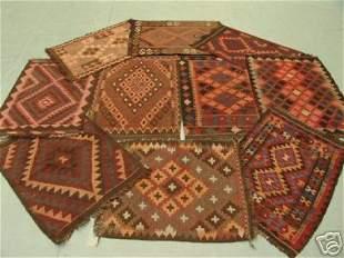 Bundle Of Ten Persian Kilim Rugs 3x2