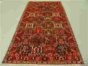 1022:Semi Antique Rugs Persian Bakhtiar Rug 10x5