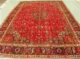 1024:Stunning Large Persian Kashan Rug 12x9