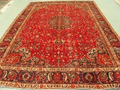 1024: 1024:Stunning Large Persian Kashan Rug 12x9