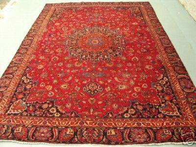 1149: 1149:Stunning Large Persian Mashad Rug 13x9