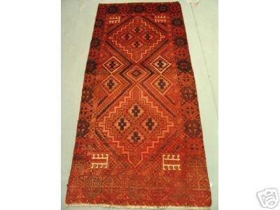 219: Semi Antique Rugs Persian Kashkoli Rug 6x3