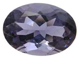 5.75CT Iolite 14X10MM Oval loose gem