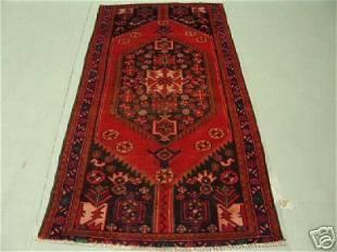 Semi Antique Rugs Persian Zanjan Rug 7x4