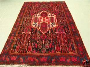 Semi Antique Rugs Persian Hamdan Rug 9x6