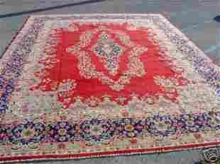 Stunning Large Persian Kirman Rug 13x10