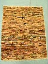 3220: Rare Vegetable Dye Afghan Chobi Gabeh Rug 3