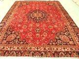 3224: 3224: Stunning Large Persian Mashad Rug 11x9