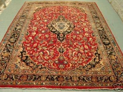 5474: Stunning Large Persian Kashan Rug 12x10