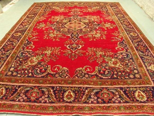 5499: 5499:Stunning Large Persian Tabriz Rug 13x10