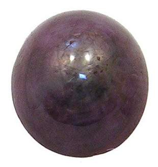 9.0 ct Large Star Ruby Cabachon Stone