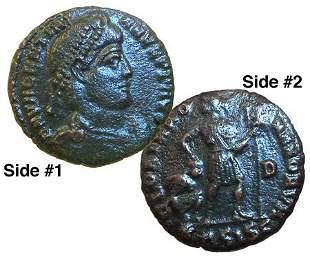 Ancient Roman Coin! VALENTINIAN I