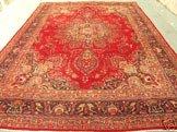 4074: Stunning Large Persian Mashad Rug 13x10