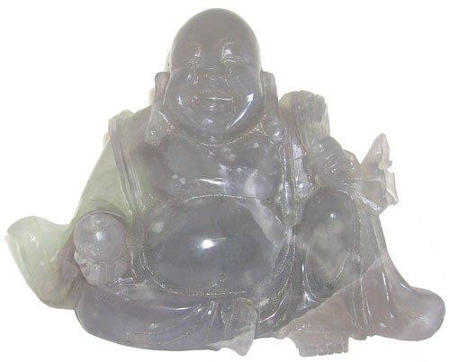 1276: Fluorite Budda carving #2