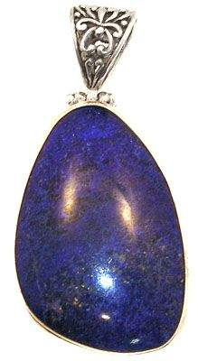 SSilver and Lapis Pendant: 773355