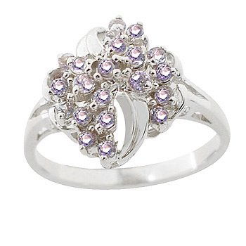 4268: wg Gift Set! Tanzanite Ring & Pendant w/Chain: 11