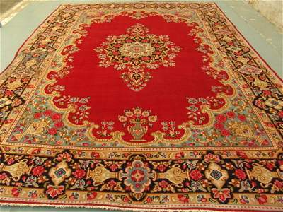 4349: Stunning Large Persian Kirman Rug 14x10: 3540
