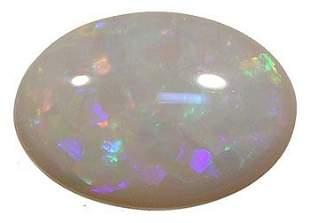 4.97ct REAL BLACK Australian Opal Loose: 13op