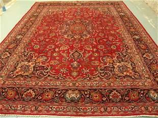 Stunning Large Persian Kashan Rug 12x10: 3430