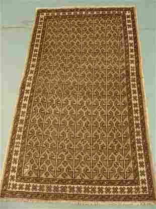 Semi Antique Persian Khrossan Rug 6x4: 3156