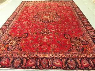 Stunning Large Persian Mashad Rug 12x9: 1240
