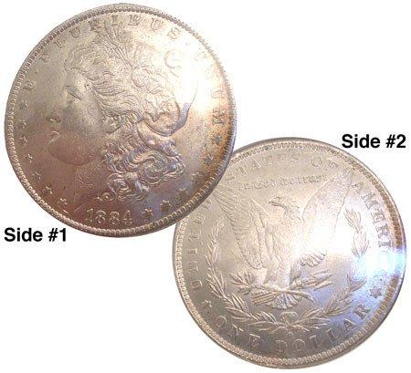 1023: 1884-O Morgan Dollar-slabbed MS62: 840522