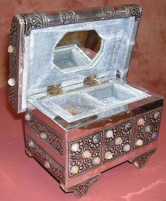 1024: Agate Treasure Jewelry Box Small: ijbs