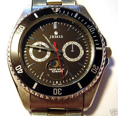 2300: Men's JEMIS Quartz Wrist Watch: 840860