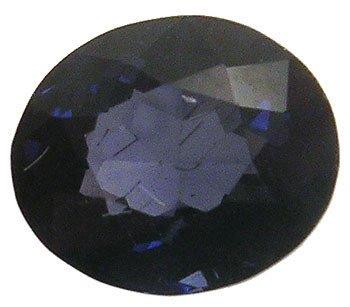 1255: 1ct Ceylon Purple Spinel Oval loose gem: psp100