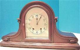 1319 Beautiful Antique Seth Thomas Tambour Mantle Cloc