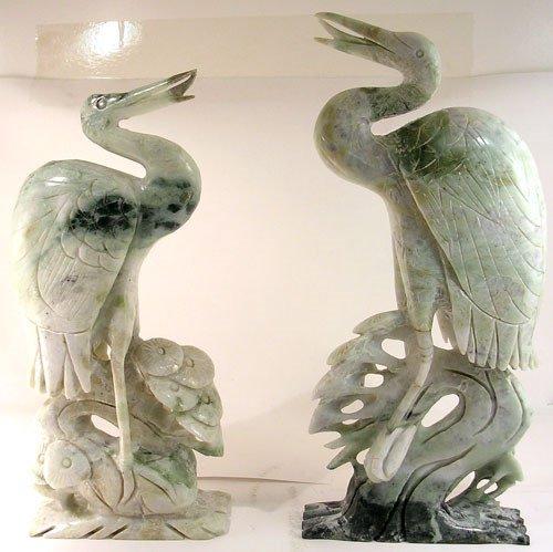 2271: Serpentine Bird Carving Medium: mbrd