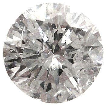 2440: 1.58ct Diamond round I1 K EGL Certified: 698029
