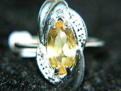 3259: 14KW 1.66cttw CITRINE/DIAMOND RING: 841751
