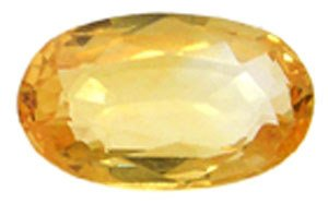 4258: 1ct Golden Yellow Sapphire Oval loose: gs103