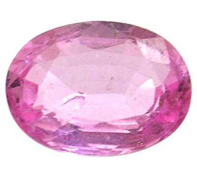 2258: 1.66ct. Pink Sapphire Oval loose APPRAISAL: 75774