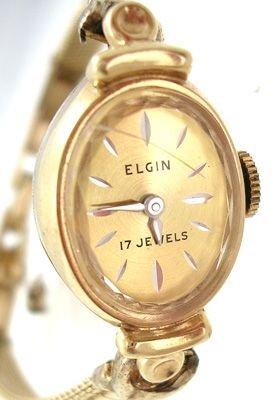 2267: 10KY Vintage ELGIN Ladies Watch: 841988
