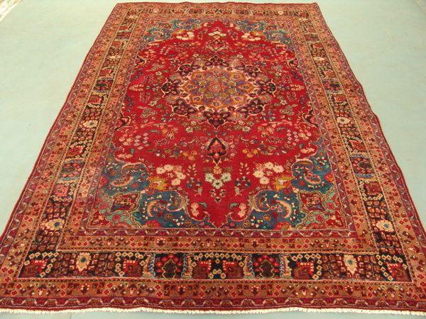 2299: Unique Beauty Persian Mashad Rug 10x6: 9190