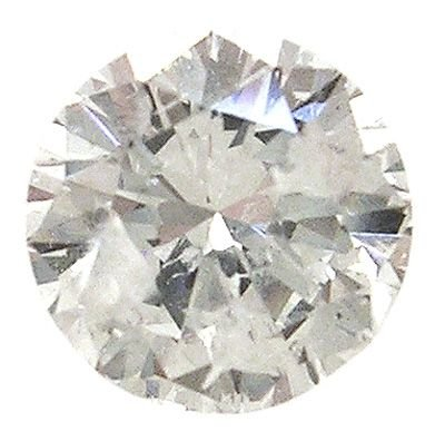 2339: .75ct Diamond round I1 F EGL Certified: 698009