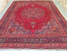 2624: Stunning Large Persian Mashad Rug 12x10: 9030