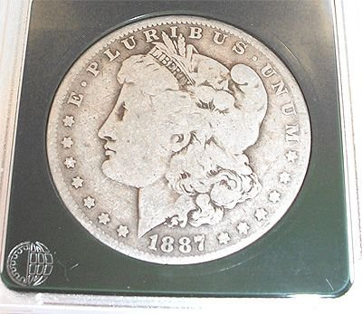 3270: 1887 US Morgan Silver Dollar: 842348