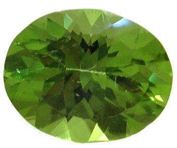 3562: 2.76ct Peridot Oval Loose