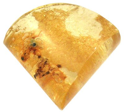 4254: 42.6 ct Fossilized Amber Loose, ab45