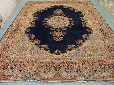 4448: Stunning Large Persian Kirman Rug 13x10, 9040
