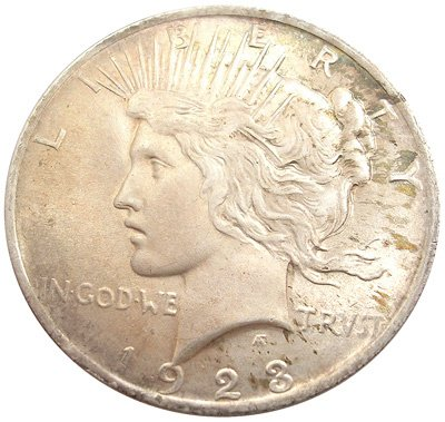 4570: 1923 PEACE Dollar, 1923coin