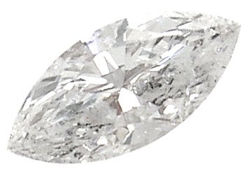 4613: .60ct Diamond Marquise I1 G EGL Certified, 698020