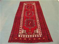 4622: Semi Antique Afghan Kurdish Rug 8x4, 10467