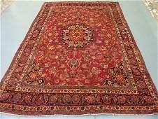 4649: Stunning Large Persian Mashad Rug 9x6, 9140
